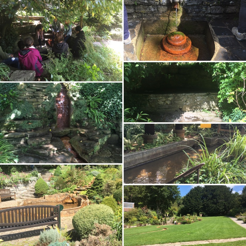 My Journey Through Chalice Wells Garden; my journey of releasing the old to allow new seeds to besown.