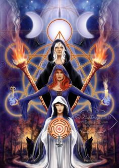 Hecate - the triple goddess
